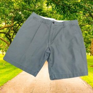 DOCKERS Olive Green Classic Fit Casual Shorts